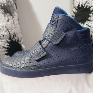 reputable site d7c43 b70e1 Nike Shoes - Nike Flystepper 2K3 Premium High Top Midnight Navy